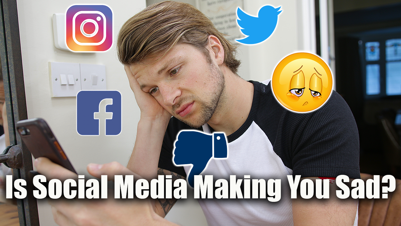 Is Social Media Making You Unhealthy & Unhappy?