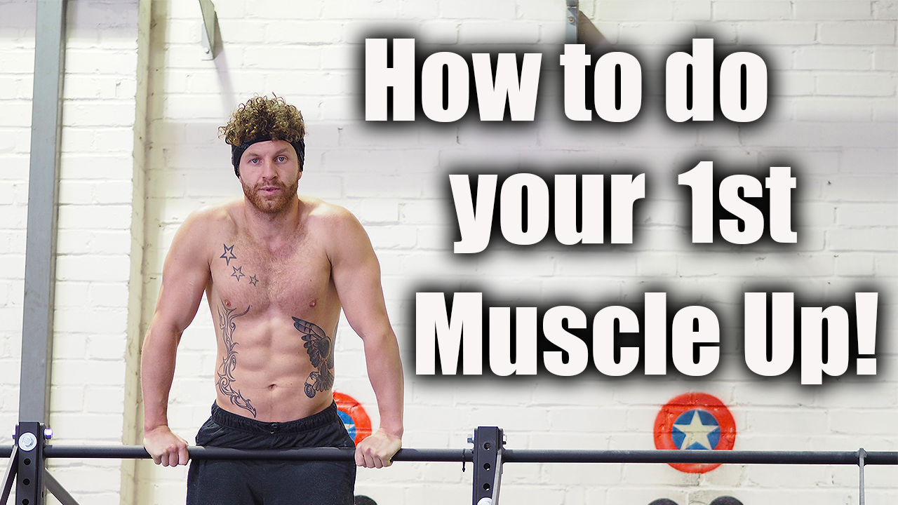 How To Muscle Up – step by step